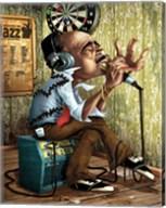 Bluesman Harmonica Fine-Art Print