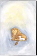 Lion and Lamb Fine-Art Print