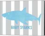 Baby Sharks I Fine-Art Print
