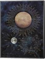 Gold Celestial Rays I Fine-Art Print