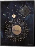 Gold Celestial Rays III Fine-Art Print