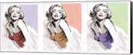 Three Faces of Marilyn Fine-Art Print