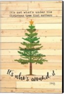 Under the Christmas Tree Fine-Art Print