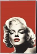 Red Lips Marilyn I Fine-Art Print
