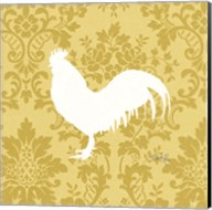 Rooster Silhouette Fine-Art Print