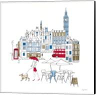 World Cafe I London Color Fine-Art Print