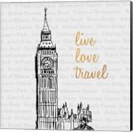 Live Love Travel Fine-Art Print