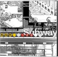 Subway Square Fine-Art Print