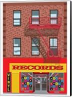 Vinyl Records Fine-Art Print