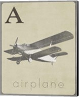 A is for Airplane Fine-Art Print
