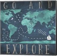 Go and Explore Fine-Art Print