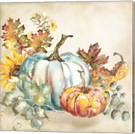 Watercolor Harvest Pumpkin III Fine-Art Print
