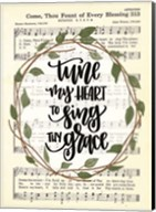Tune My Heart I Fine-Art Print