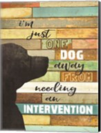 Dog Intervention Fine-Art Print