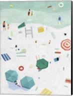 Beach Vista I Fine-Art Print