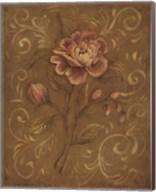 Crackle Rose I Fine-Art Print