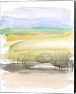 Grassy Marsh I Fine-Art Print
