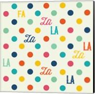 Fa La La Dots Fine-Art Print