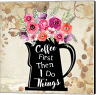Coffee First Fine-Art Print