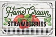 Home Grown Strawberries Fine-Art Print