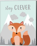 Stay Clever Fox Fine-Art Print