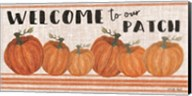 Welcome to Our Pumpkin Patch Fine-Art Print