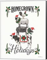 Homegrown Holidays Fine-Art Print