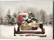 Snowy Presents Fine-Art Print