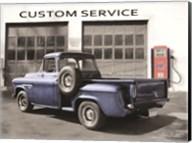 Gulf Service Station Fine-Art Print