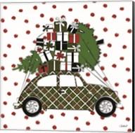 Christmas Car Fine-Art Print