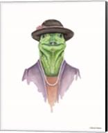 Iguana in Sunday Best Fine-Art Print