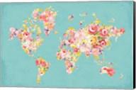 Midsummer World Turquoise Fine-Art Print