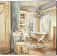 Boudoir Bath I Gray Fine-Art Print