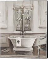 Classical Bath III Gray Fine-Art Print