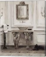 Classical Bath I Gray Fine-Art Print