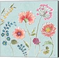 Gypsy Meadow II Blue Fine-Art Print