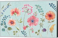 Gypsy Meadow I Blue Fine-Art Print