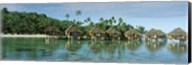 Lagoon Resort, Island, Water, Beach, Bora Bora, French Polynesia, Fine-Art Print
