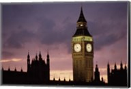Big Ben Palace Of Westminster London Fine-Art Print