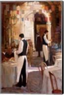 Two Waiters, Place des Vosges Fine-Art Print