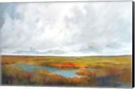 Sunset Over The Marsh Fine-Art Print