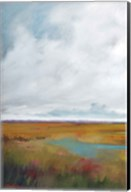 Sunset Over The Marsh I Fine-Art Print