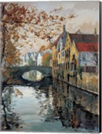 Brugge Reflections Fine-Art Print