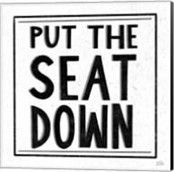 Put the Seat Down Fine-Art Print