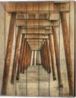 Vintage Under Dock Fine-Art Print