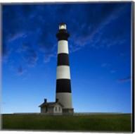 Lighthouse at Night III Fine-Art Print