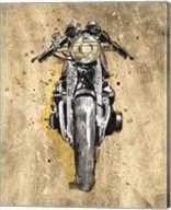 Metallic Rider I Fine-Art Print