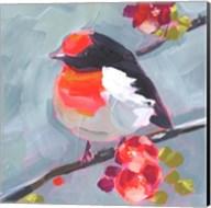 Brushstroke Bird I Fine-Art Print