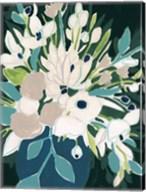 Blue Bloom Sketch I Fine-Art Print