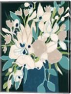 Blue Bloom Sketch II Fine-Art Print